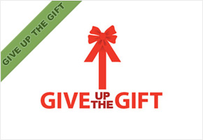 Give Up The Gift Logo Design